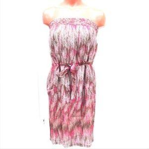 charlie jade Dresses - 100% SILK Charlie Jade strapless dress. NWT